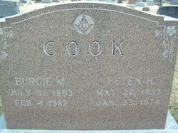Burgie M Cook