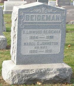 Mabel C. <i>Johnston</i> Beideman