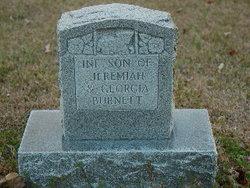 Infant Son of Jeremiah & Georgia Burnett