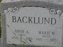 Bror A. Backlund