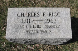 PFC Charles F. Rigg