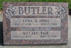 Willard Paul Butler