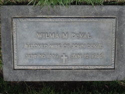Wilma M <i>McKinney</i> DuVal