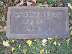 Katherine M. <i>Sterner</i> Evans
