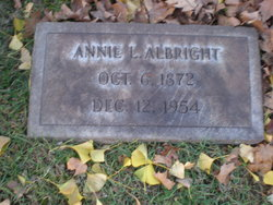 Annie Louise <i>Sterner</i> Albright