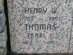 Pearl Lorraine <i>Foster</i> Thomas