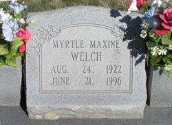 Myrtle Maxine Welch