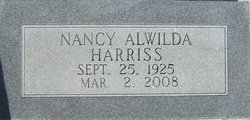 Nancy Alwilda Harriss