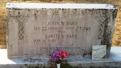Bartie Lillian <i>Williams</i> Barr