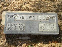 Bertha Mae Mae <i>Smith</i> Brown Brewster