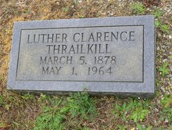 Luther Clarence Thrailkill