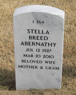 Stella Elizabeth <i>Breed</i> Abernathy