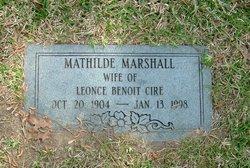 Matilde <i>Marshall</i> Cire