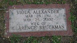 Viola <i>Alexander</i> Bruckman