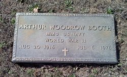 Arthur Woodrow Booth