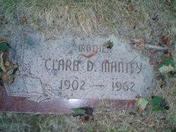 Clara D. <i>Blalock</i> Mantey
