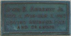 John Edward Ahrendt, Jr