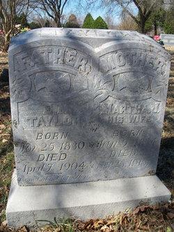 Martha Josephine <i>Wooldridge</i> Taylor