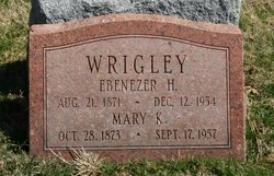 Ebenezer Holt Wrigley