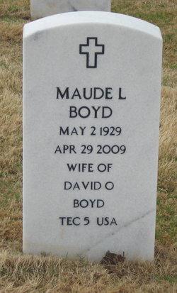 Maude L Boyd