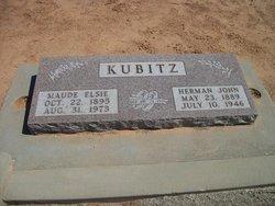 Maude Elsie <i>Stolle</i> Kubitz