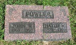 Hattie Mae <i>McIntyre</i> Fowler