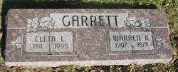 Cleta L. <i>Stone</i> Garrett