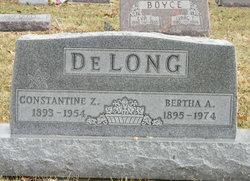 Bertha A <i>Matzen</i> DeLong