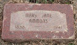 Mary Jane <i>Martin</i> Ammons