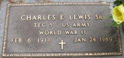 Charles E Lewis, Sr