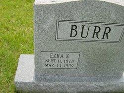 Ezra Samuel Burr