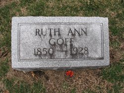 Ruth Ann <i>Coulter</i> Goff