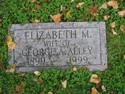 Elizabeth M Lizzie <i>Church</i> Alley