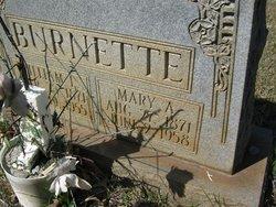 Mary Ann <i>Marshall</i> Burnette