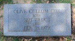 Olive <i>Cullom</i> Cox