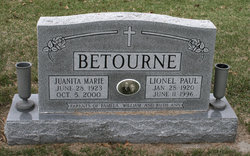 Juanita Marie <i>Werth</i> Betourne
