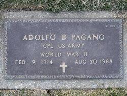 Adolfo D Pagano