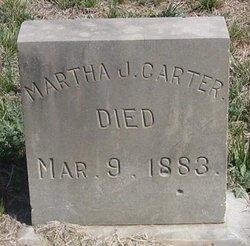 Martha Jane <i>Hand</i> Carter