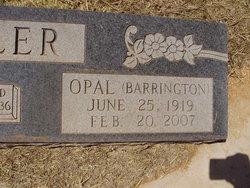 Opal Inez <i>Barrington</i> Miller