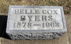 Belle <i>Cox</i> Byers