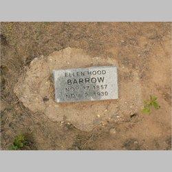 Ellen <i>Hood</i> Barrow