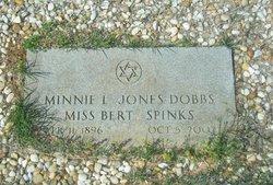 Minnie L <i>Jones</i> Dobbs
