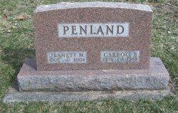 Jeanett M Penland