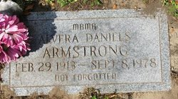 Alvera Vera <i>Daniels</i> Armstrong