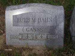 Ruth M. <i>Ganss</i> Hahn