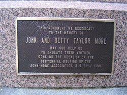 Elizabeth Betty <i>Taylor</i> More