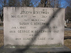 George H Ackerman