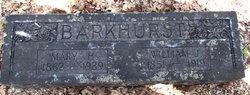 Mary Harriet <i>Brown</i> Barkhurst