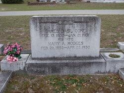 Mary Antoinette Mittie <i>Hodges</i> Cone