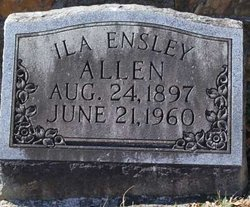Ila Mae <i>Ensley</i> Allen